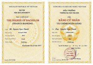 Làm Bằng Đại Học Cao Đẳng Hoa Sen Tại HCM