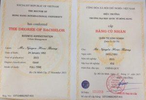 Mua bằng đại học Hồng Bàng tại HCM bảo mật, giá rẻ